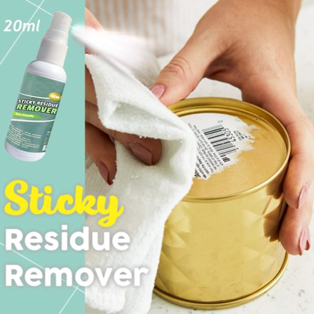 20ml Sticky Residue Remover Cleaner Ideal For Use In The Home Workshop Car windshield glass Wall Sticker Clean Spray Remove 2019