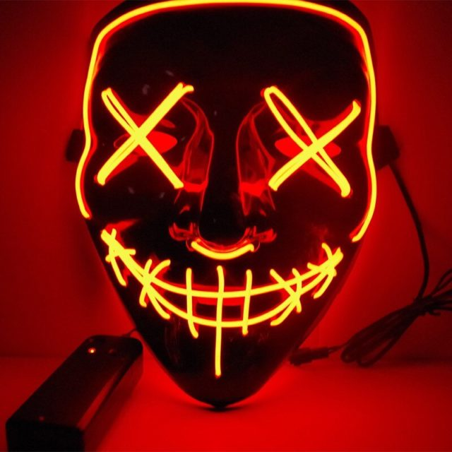Glow in the dark Halloween Party Mask Cosplay Masks
