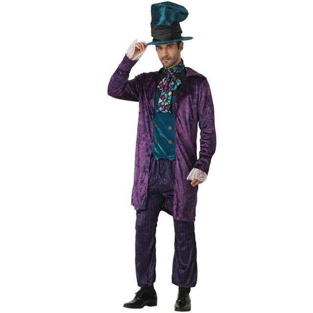 Snailify alice in wonderland costume Boys Mad Hatter Costume Family Halloween Cosplay Alice Through The Looking Glass Cosplay