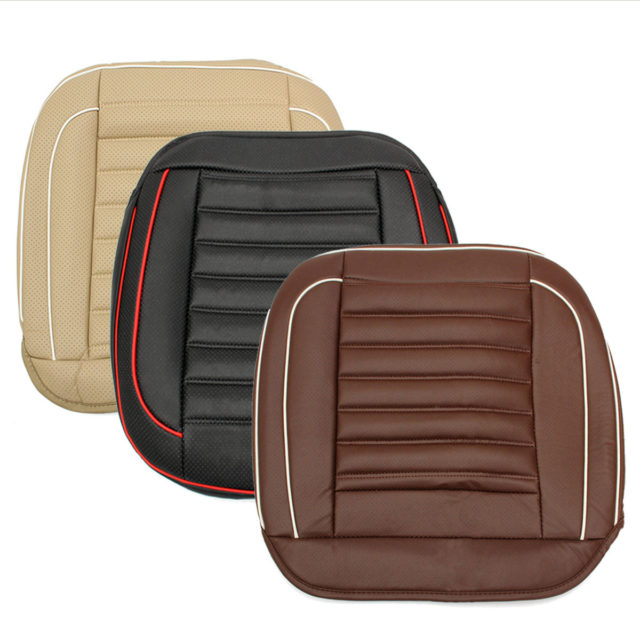 Pu Leather Car Seat Cushion Pad Breathable Car Cover Seat Protector