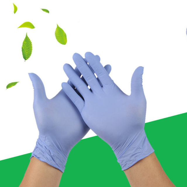 50/100PCS  Disposable Gloves Latex  Dishwashing Kitchen Medical  Work Rubber Garden Gloves Universal For Left and Right Hand
