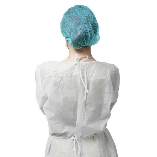 5/10 Pcs Disposable Protective Isolation Gown Indoor Outdoor Dustproof Coverall For Women Men Anti-fog Anti-particle Suit #LR4
