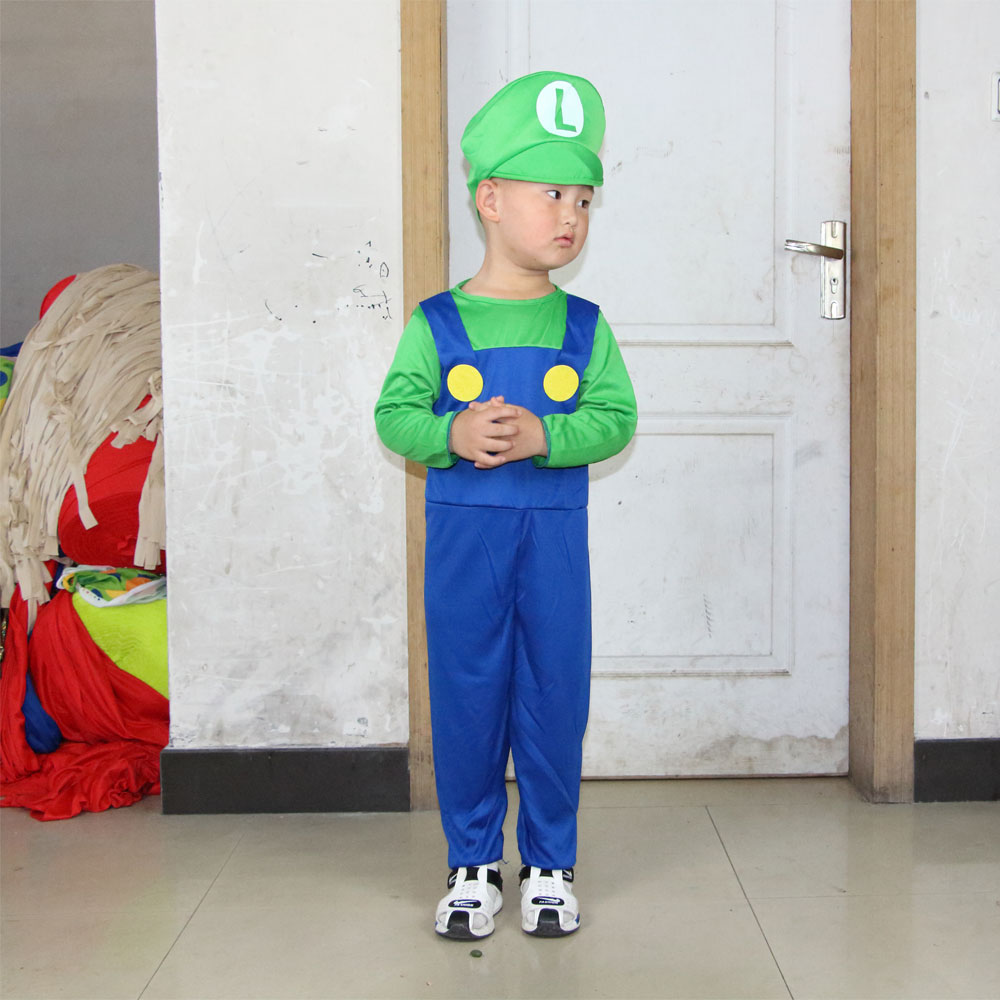 mario and luigi halloween costumes kids